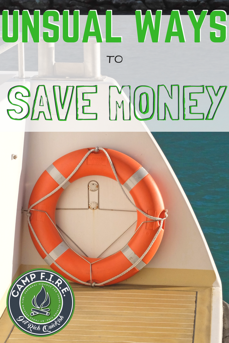 A huge (and growing) list of unique, crazy and unusual ways to #savemoney will help you make financial progress, stick to your #budget, become #debtfree and save more #money than ever before. #UniqueMoneySavingIdeas