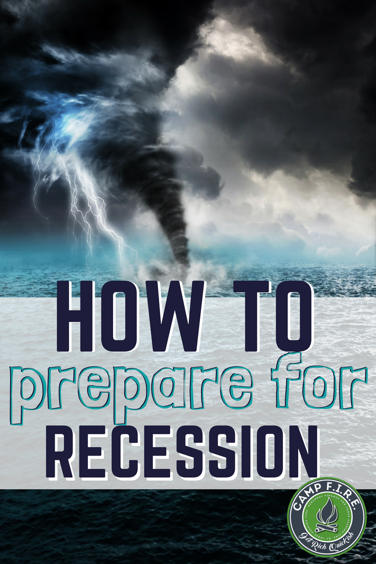 The time to prepare for recession is now, not once bad times hit. Learn how to prepare for the pending recession today with these 4 tips. Be prepared financially so that when the next recession hits, you'll be able to survive the storm.