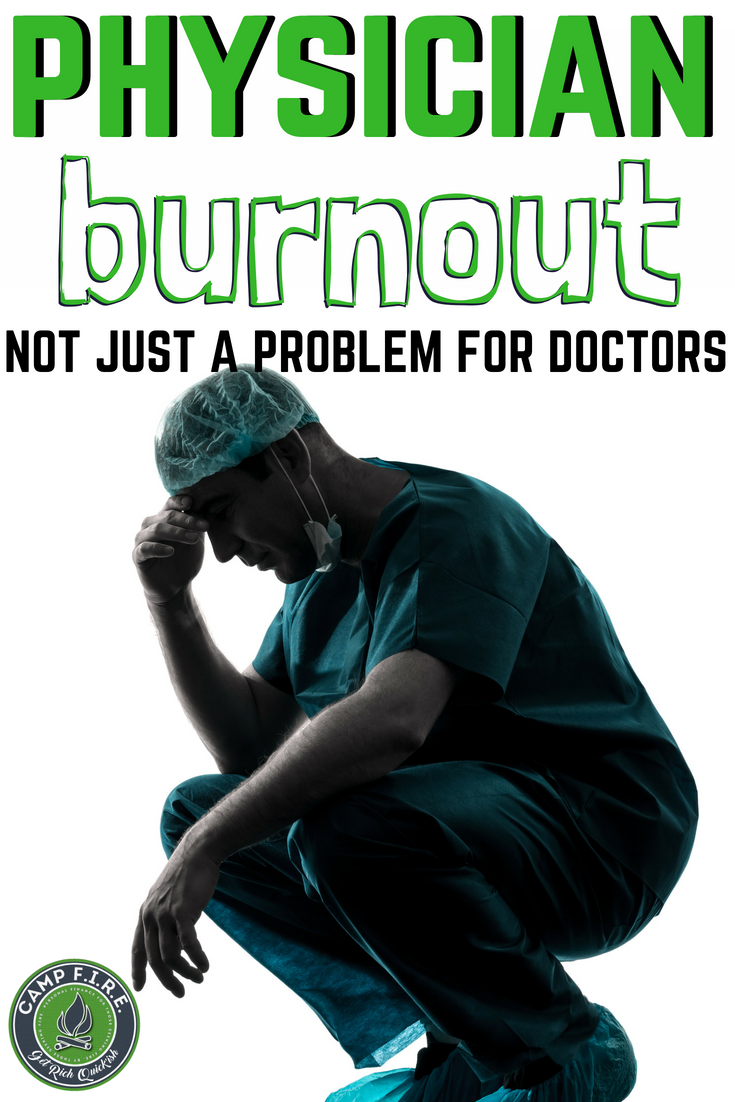 Physician Burnout isn't just a problem for #doctors and those in the #Healthcare industry.  It's potentially a huge problem for you and me as well. Learn what  #PhysicianBurnout is, how it will impact your #health, and what you can do to help.