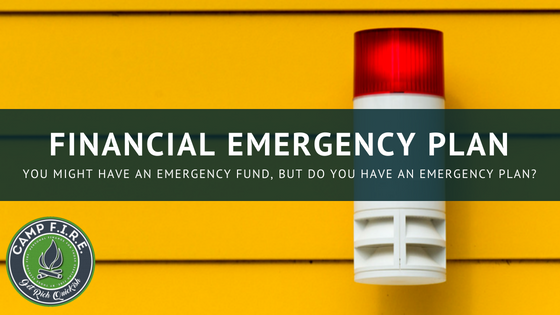 financial emergency plan