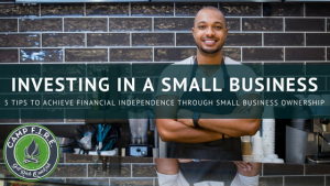 Investing in a small business