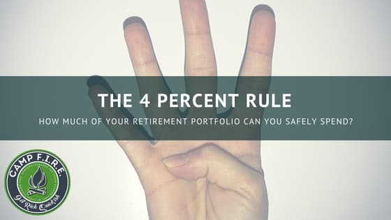 The 4 percent rule. How much of your retirement can you safely spend?