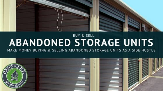 Buying and Selling Abandoned Storage Units