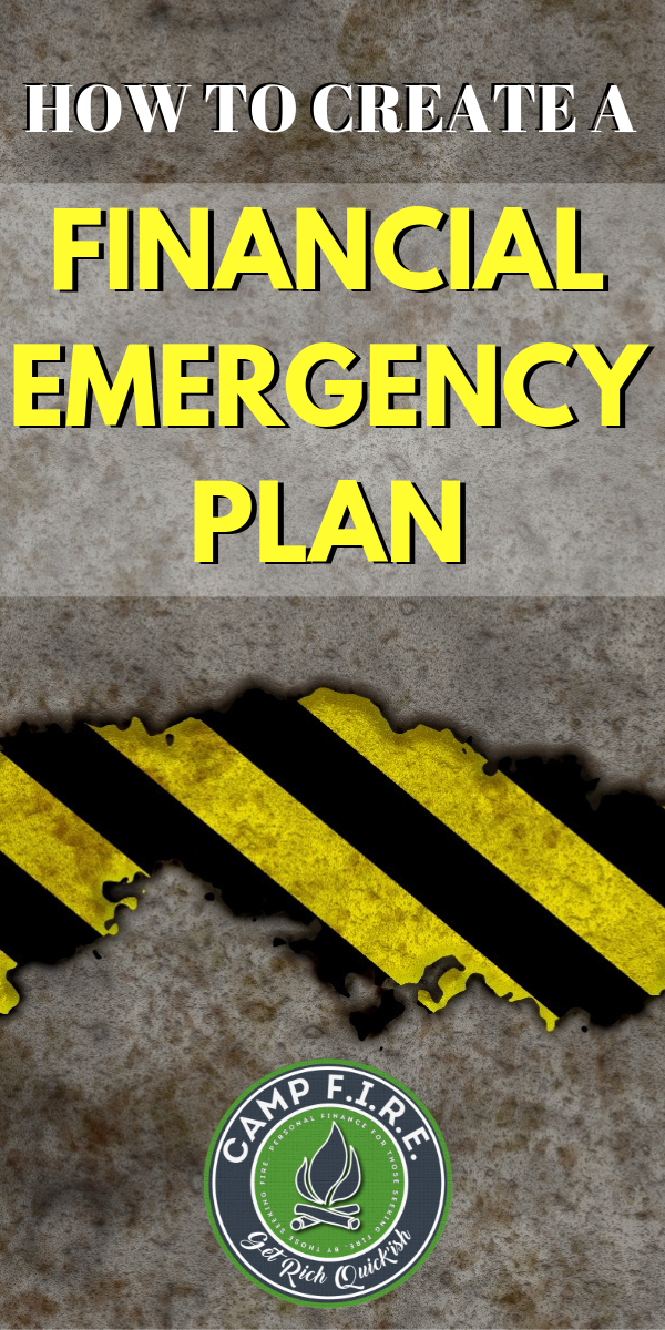 Do you have a #financialemergencyplan? You should know exactly what you'll do if and when a #financialemergency hits your budget. #EmergencyFund #jobloss #fired #unemployed