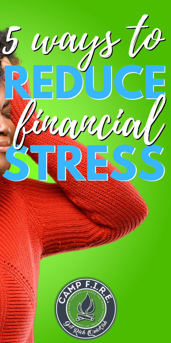 While it's true that #money can't buy #happiness, it's also doesn't do a lot of good to our mindset.Here are 5 ways to reduce #financialstress from your life.