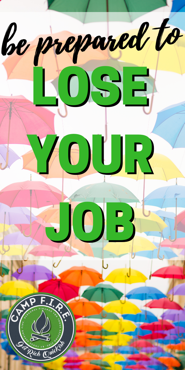 The best time to prepare for #unemployment is while you're gainfully #employed. Doing so could make the difference between financial success or failure. #fired #jobloss #unemploymentinsurance