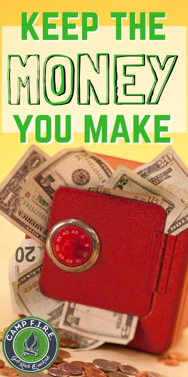 Money is awesome! Quit giving yours away and start to keep the money you make!