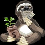 The Money Sloth