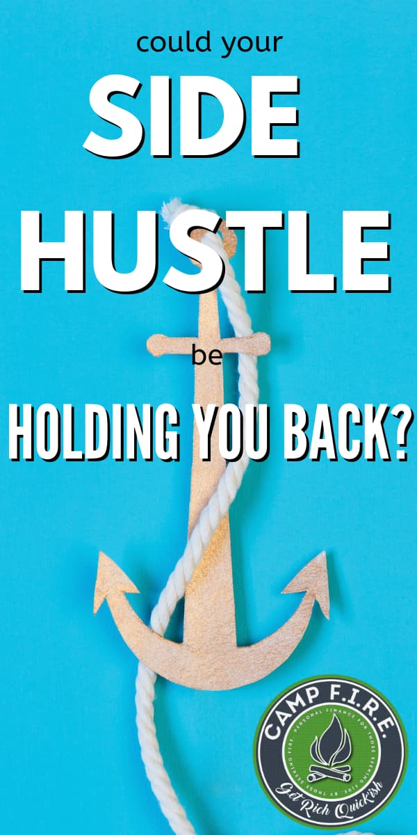 From a financial standpoint would you be better off ditching the side hustle and focusing on your full time job? Is your side hustle costing you money?