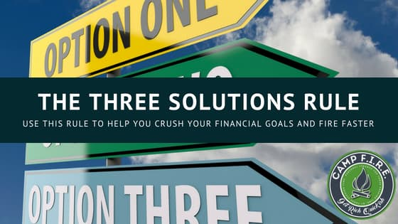 Three Solutions Rule
