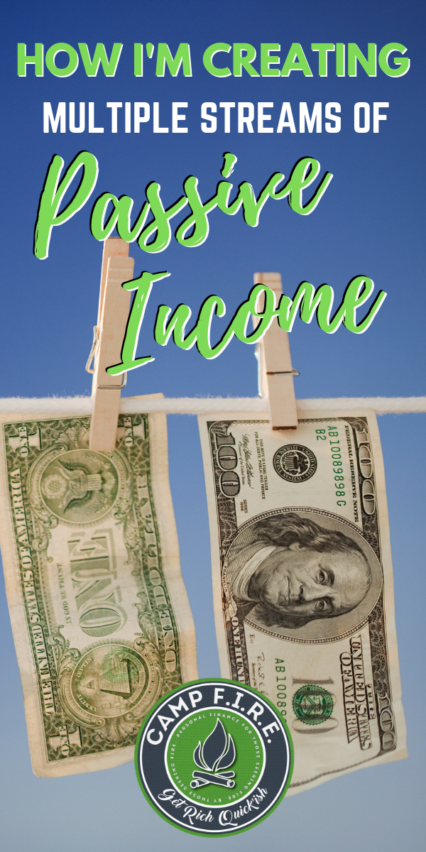 Learning how to create #multipleincomestreams, including #passiveincome is vital if you're trying to #diversifyyourincome, reach #FinancialIndependence and #RetireEarly