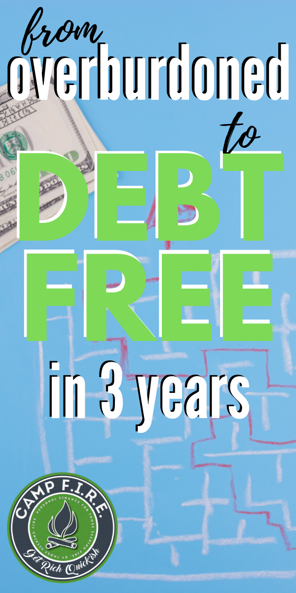 A story of one person's debt payoff journey and how they were able to overcome financial struggles that shaped the financial life they live today.