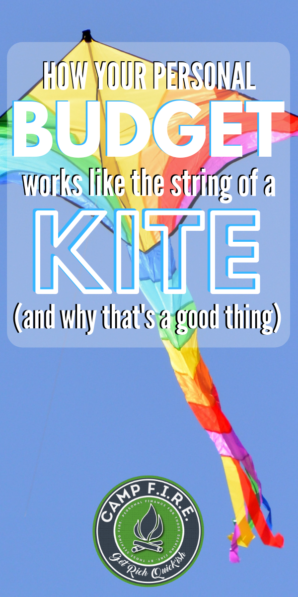 How do #Budgets work? Just like the string of a #kite. #PersonalFinance #HowToCreateABudget