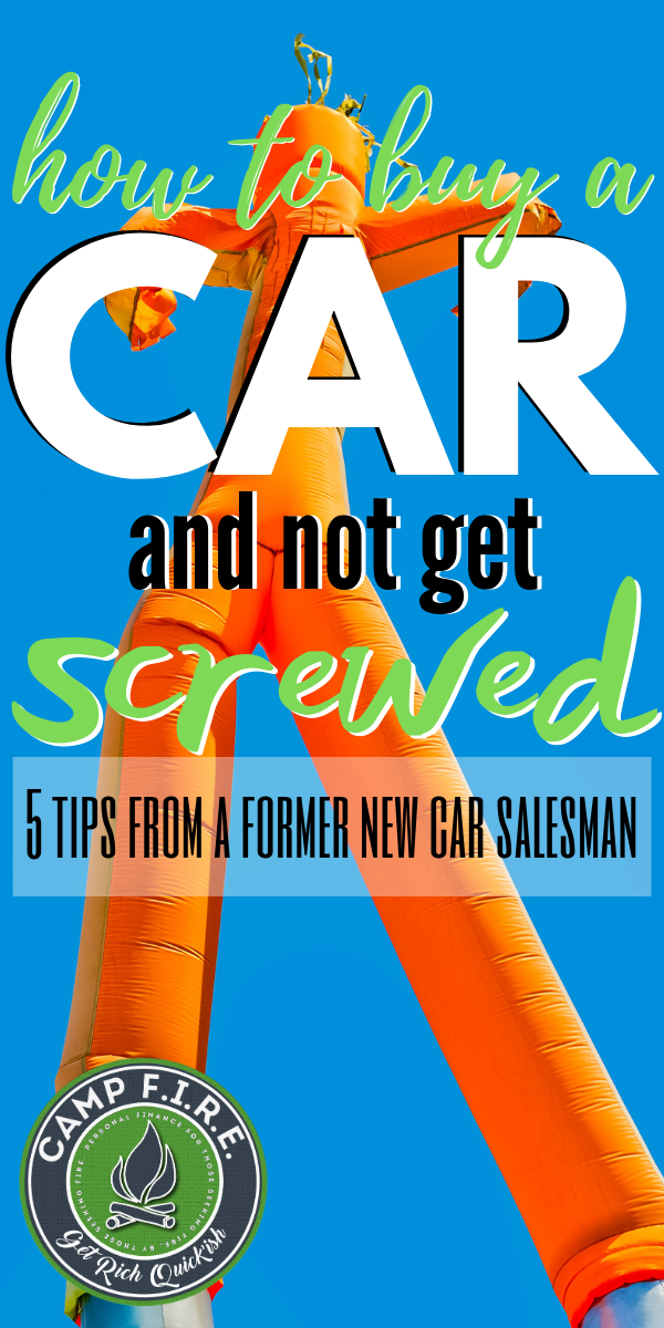 Learn #HowToBuyANewCar and not get screwed! 5 #CarBuyingTips from a former salesman. Shopping for a new or #usedcar? These 5 tips will help you get the best price on your new car, top dollar for your #tradein and the best #carfinancing terms.