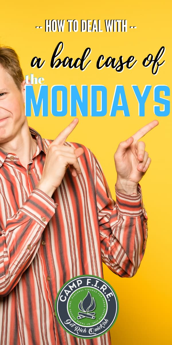 I have a love hate relationship with my work. I hate Monday, but love paydays!