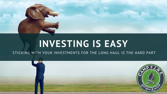 Investing is easy