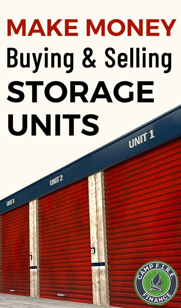 Make money buying & selling abandoned storage units