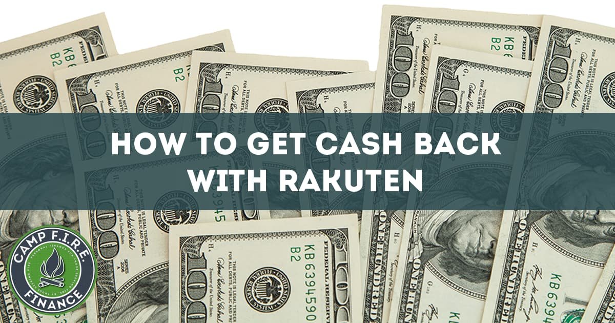 How to get cash back with Rakuten