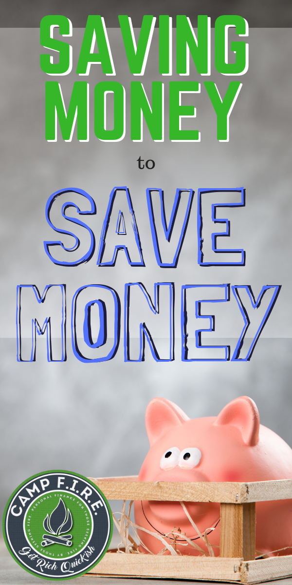 #ItTakesMoneyToMakeMoney, right? But what if you just can't afford to #invest? Then it's time to start saving #money to #savemoney. #FI #FIREMovement #FinancialIndependence #RetireEarly #ESPP