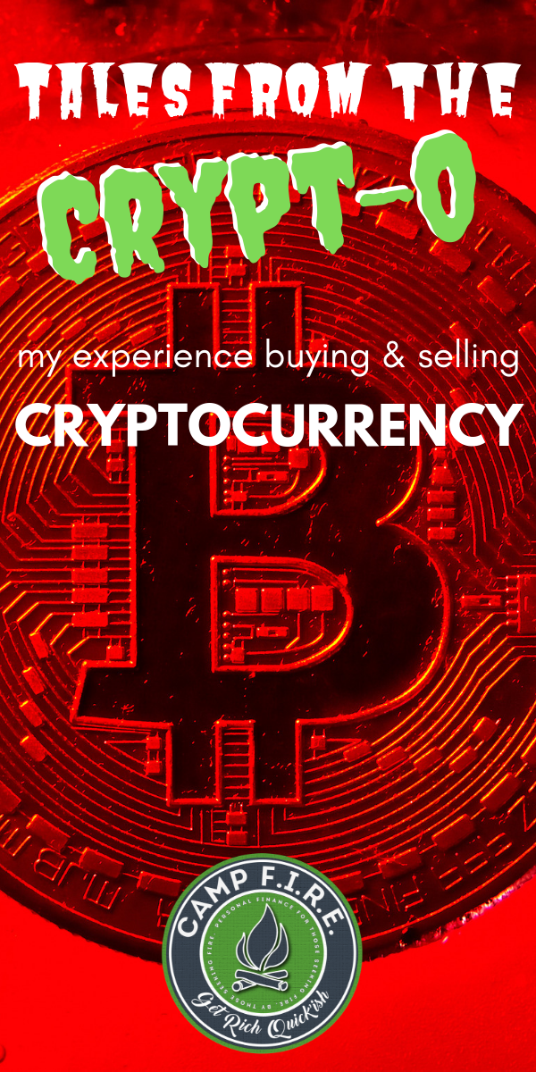 I'm not a #crypto expert - this is just my experience buying and selling #bitcoin, #ripple, #tron and e#thereum. These are my tales from the #crypto. #cryptocurrency #bitcoin