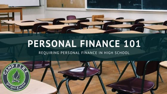 Teach personal finance in high school