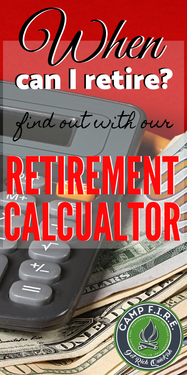 When Can I Retire is a difficult question because the answer is different for everyone, but our retirement calculator gives you a pretty good idea. Give it a try if you're wondering when you can #retire